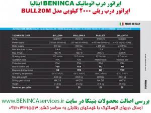 BENINCA-BULL20M-BENINCA-درب-اتوماتیک-ریلی-بنینکا-بول20ام،-بنینکا-ریلی-بول-20-ام،-ریلی-بنینکا-بول-20،-ریلی-2-تن،-درب-ریلی4 (2)